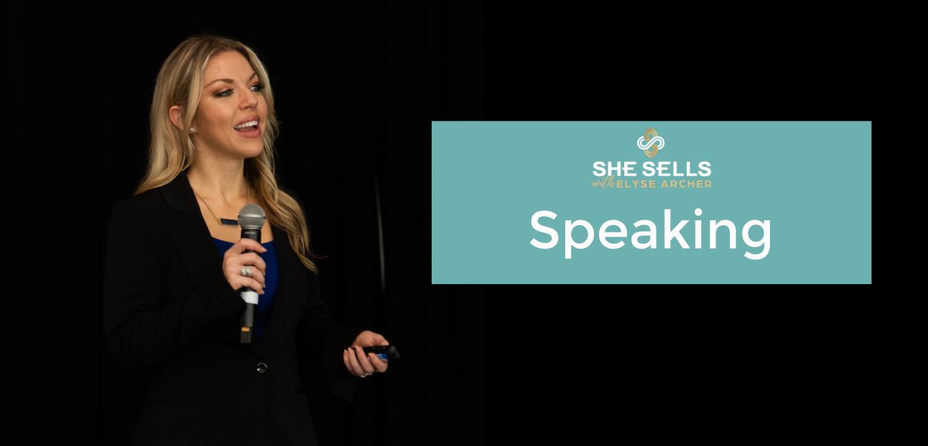Female sales keynote speaker