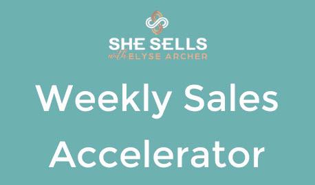 Weekly Sales Accelerator